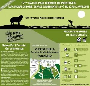 invitation Paris Fermier