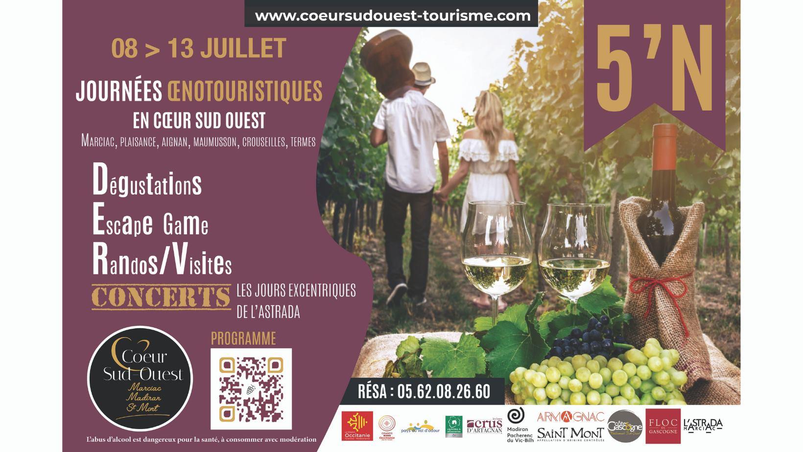 Informations Journée Oenotouristique